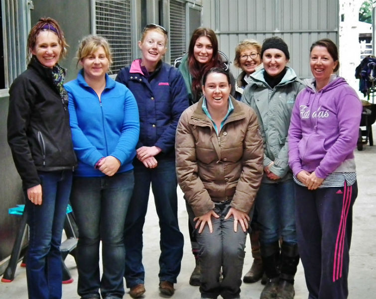 acatt Horse Massage practitioners